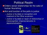 political realm