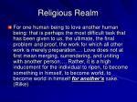religious realm9
