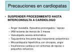 precauciones en cardiopatas