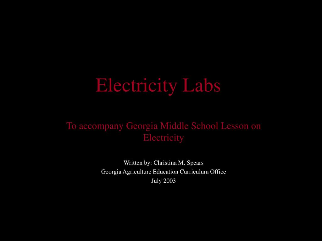electricity labs l.