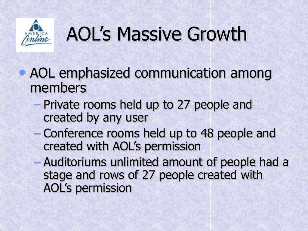 AOL's Massive Growth