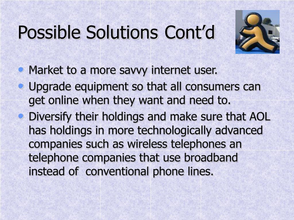 Possible SolutionsCont'd
