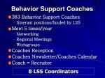 behavior support coaches