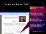 3m annual report 2003