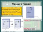thevenin s theorem