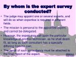 by whom is the expert survey conducted8