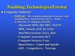 enabling technologies format10