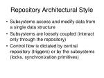 repository architectural style