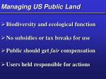 managing us public land