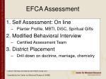efca assessment