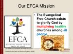 our efca mission