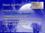 dexon and pga