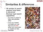 similarities differences28