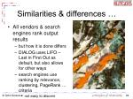 similarities differences29