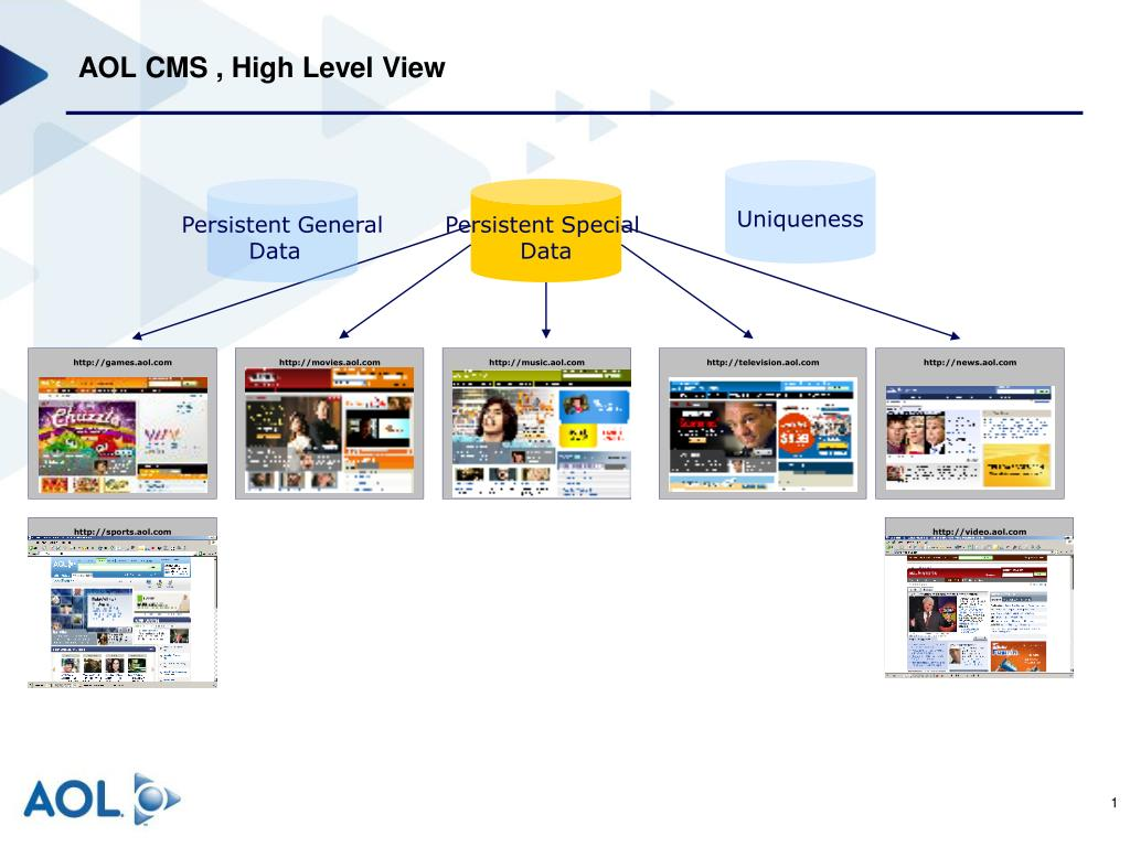 aol cms high level view l.