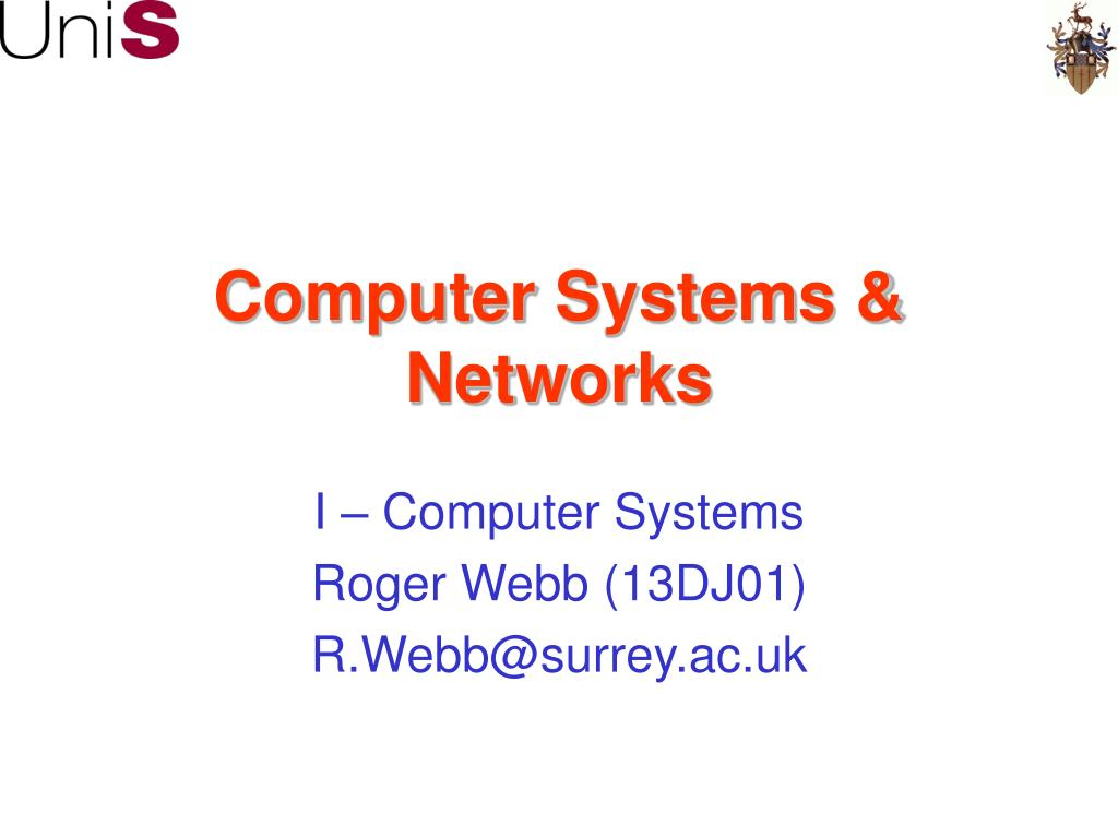 computer systems networks l.