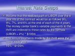 interest rate swaps7