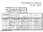 philadelphia inquirer 29 jan 189539