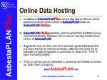 online data hosting