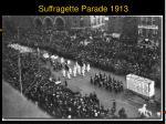 suffragette parade 1913