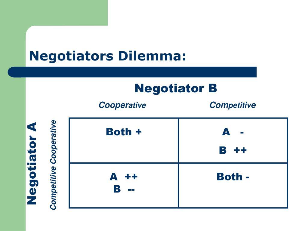 Negotiator B