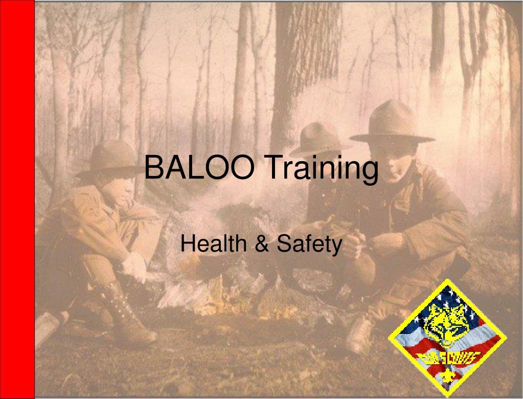 baloo training l.