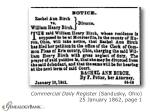 commercial daily register sandusky ohio 25 january 1862 page 1