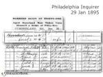philadelphia inquirer 29 jan 189565