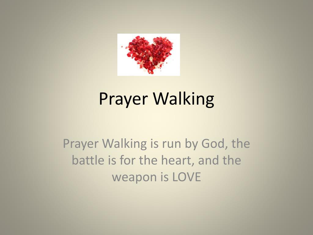 prayer walking l.