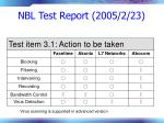 nbl test report 2005 2 2378