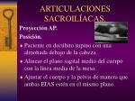 articulaciones sacroil acas
