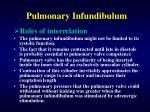 pulmonary infundibulum