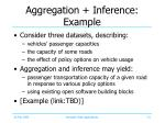 aggregation inference example
