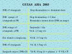 guias aha 2003