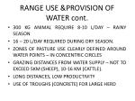 range use provision of water cont