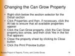 changing the can grow property