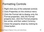 formatting controls25