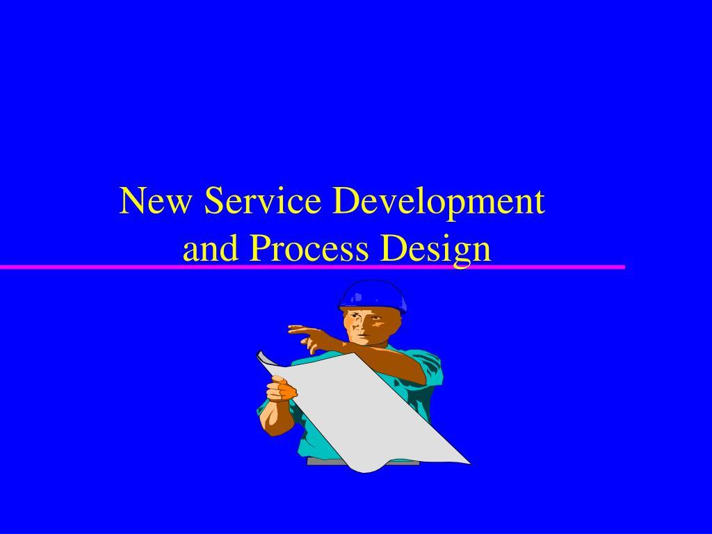 new service development and process design l.