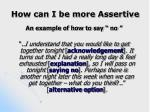 how can i be more assertive18