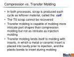 compression vs transfer molding
