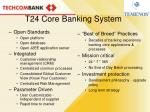t24 core banking system