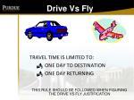 drive vs fly