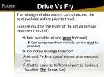 drive vs fly86