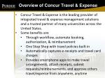 overview of concur travel expense5