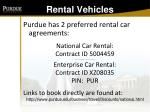 rental vehicles96