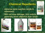 chemical repellents