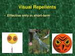 visual repellents