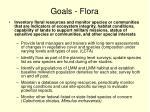 goals flora