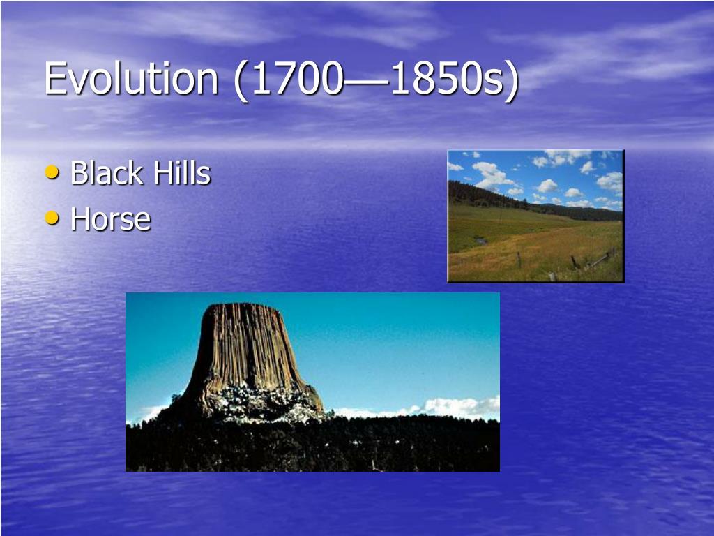 Evolution (1700