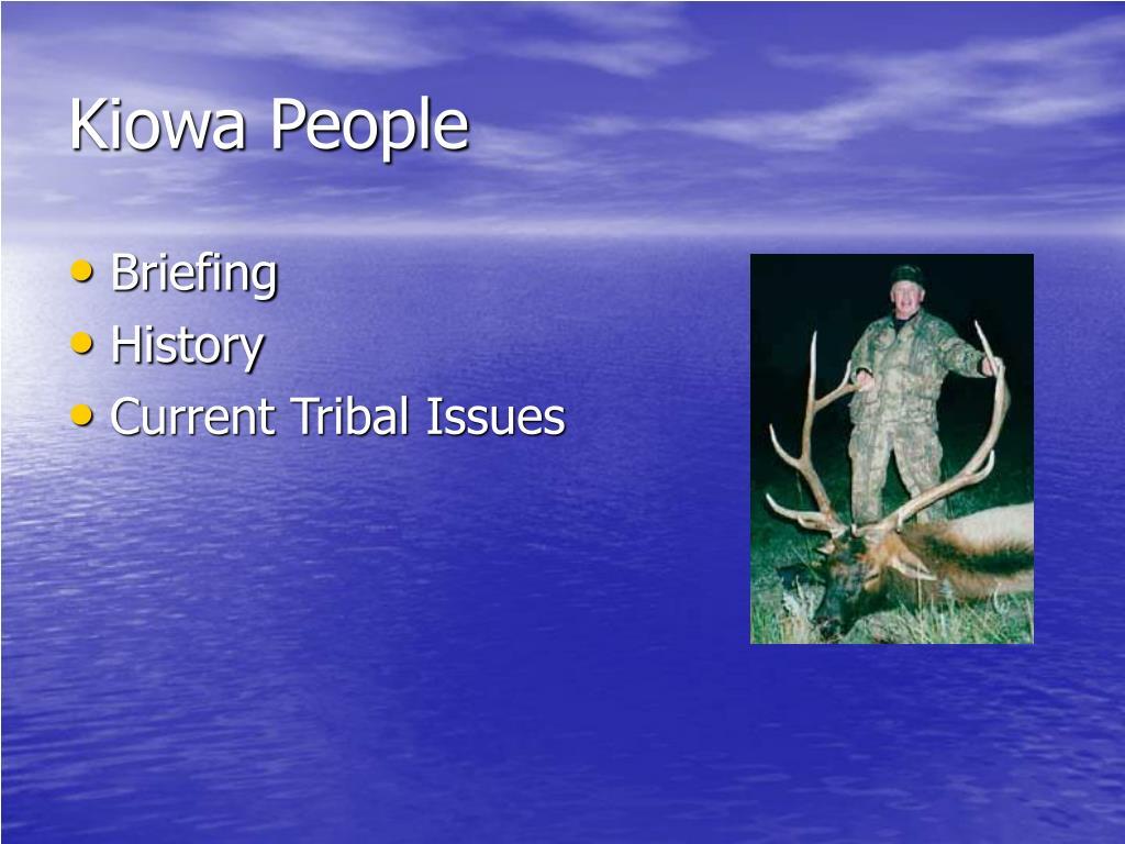 Kiowa People